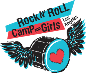 Rock n' Roll Camp for Girls Los Angeles Logo