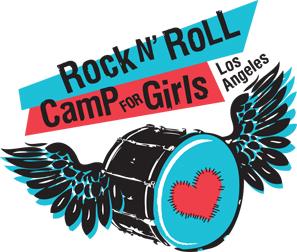 Rock n' Roll Camp for Girls Los Angeles Logo